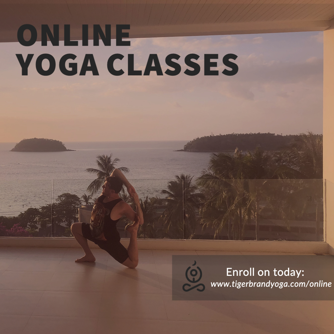 Tiger Brand Yoga Online Classes – Dharma Gentle