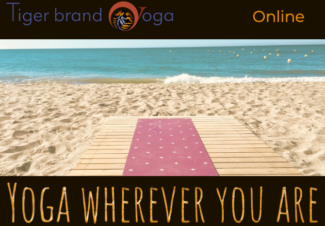 Tiger Brand Yoga Online Dharma All Level Saturday May 2nd