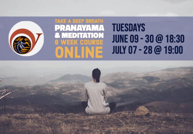 Tiger Brand Yoga Online – Prāṇāyāma & Meditation  Course
